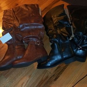 2pairs over the nkee boots 👢